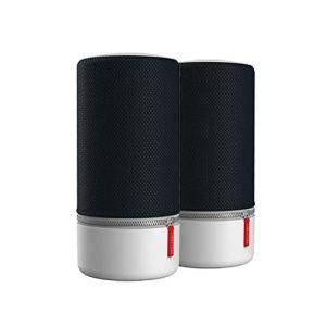 Lot de 2 ZIPP 2 Libratone multi-pièces, enceinte portable sans fil intelligente (Alexa, AirPlay 2, son 360°, WLAN, Bluetooth, Spotify Connect, autonomie de 12 heures) – Stormy Black