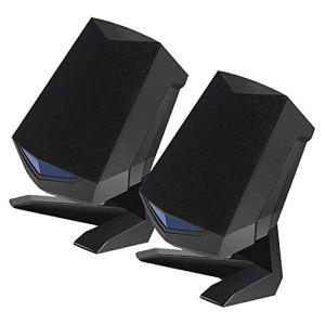 Molare 2 PCS 3D Bureau Audio Haut-Parleur Intelligent Réduction du Bruit Portable USB Ordinateur Portable Stéréo Haut-parleurs