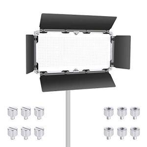 Neewer Coupe-Flux de Lampe LED Vidéo Professionelle pour Neewer 960 LED Panneau Lumière, Barndoor en Construction Métallique Solide (Seule la Coupeflux Fournie)