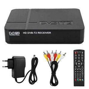 Neufday Décodeur DVB-T/T2, télécommande DVB Android TV Box fournie