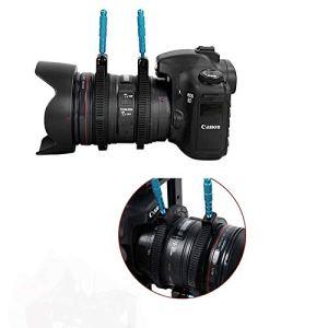 no brand MCY Caméra 2 PCS en Caoutchouc Follow Focus Objectif Bague Poignée Main engrenage