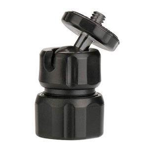 Nukana Mini ABS Rotule 1/4 Vis Mount 360 ° Rotatif Rotule Trépied Accessoire pour Caméra