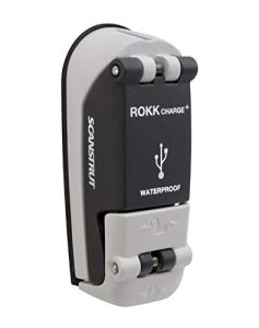 ROKK Charge Plus étanche Prise USB, Noir/Gris, Taille Unique
