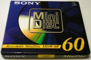 Sony – 60A mDW mini disc 60 min