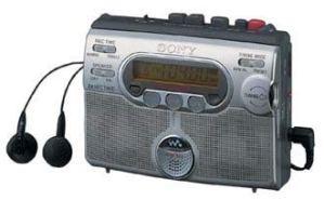 Sony wM-gX400 Lecteur de Cassettes Portable avec Radio Argent