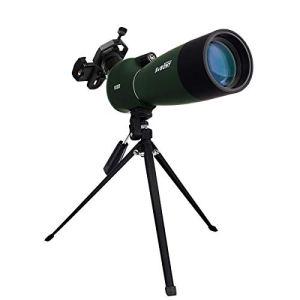 Svbony SV28 Longue Vue 25-75×70 BAK4 Porro Prisme Imperméable Longue Vue Puissante Adaptateur de Téléphone Trépied pour Observation des Oiseaux Le tir à l'arc