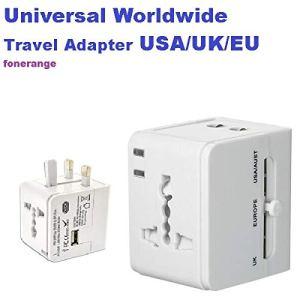 tech Adaptateur Secteur International 1 Port USB pour Les Voyages dans Le Monde