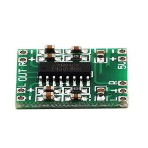 Vert PAM8403 Super Mini amplificateur numérique Conseil 2 * 3W Classe D Numérique 2.5V À 5V Carte d'amplificateur de Puissance Efficace Hot New