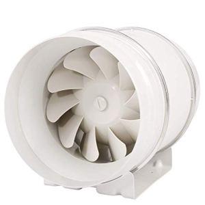 Wwwwwxw Ventilateur d'extraction de Tuyau d'extracteur de Ventilation 200Mm Cuisine Ventilation puissante silencieuse 8 Pouces Fumée Forte Aspiration Utilisation Durable Facile à démonter.