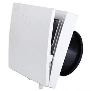 Wwwwwxw Ventilateur Rond, Ventilateur d'extraction de Ventilation, vitre de Ventilation silencieuse 180MM.