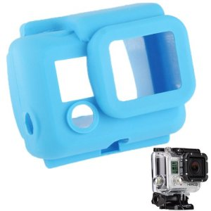 YOOW Cas de l'appareil Photo Nouvelle Protection en Silicone for GoPro HERO3 (Vert) (Color : Color1)