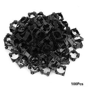 100pcs 18650 support de batterie li-ion Support de support de batterie cylindrique