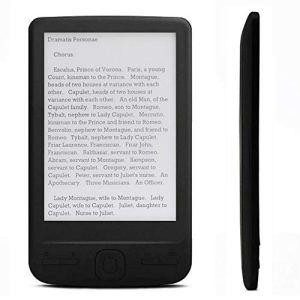 ASHATA Portable E-Book Reader, 4.3inches E-Ink Screen Display Ebook Reader Electronic Paper Book, 4G E-Book Reader Resolution 800×600, Built-in 8G Memory, 2100mah Battery