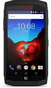 Crosscall Trekker-X3 Premium Edition Smartphone Portable Débloqué 4G (Ecran: 5 Pouces – 32 Go – Nano-SIM – Android) Noir + X-Play Ecouteurs sans-Fil + Protection Ecran Verre Trempé