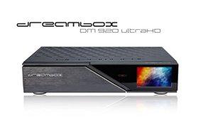 Dreambox DM920 UHD 4K 1 x Triple Multistream / 1 x DVB-C FBC Tuner E2 Linux 3 to