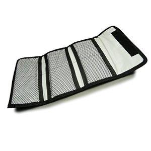 Filtre protecteur – Sacoche de Protection Petit, portefeuille à 6 poches pour filtres 25 – 82mm pour Canon Nikon Sony Pentax etc. DSLR Camera lentilles
