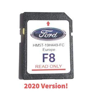 Ford F8 SYNC2 Carte de Navigation pour Carte SD Europe 2019-2020