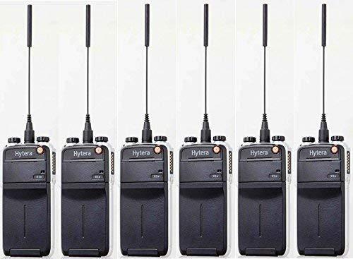 Hytera X1E GPS 5 W &UHF analogique et numérique Radio-Oreillette discrète EAN22 x 6