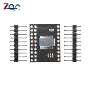 MCP23017 Module d'interface série IIC I2C SPI MCP23S17 Broches d'extension d'E/S 16 bits bidirectionnelles Module d'interface série 10Mhz