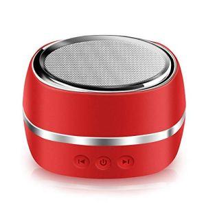 Mini Enceinte Bluetooth 4.1 Portable Actif avec Basse Extra, étanchéité IP65, Mini Haut Parleur Parfait pour la Douche, Chambre, Vélo, Voiture