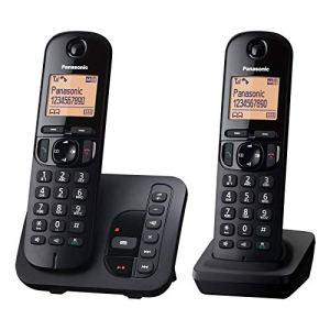 Panasonic KX-TGC222EB Téléphones sans Fil Répondeur Ecran