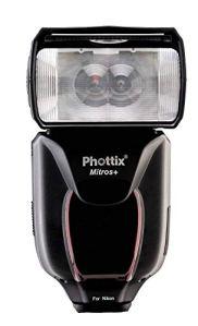 Phottix Mitros+ Flash maître TTL + Transmetteur intégré, HSS, Master pour Nikon