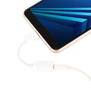 ZHANGYD Câbles for Xiaomi Mi 6 Plus Type-C Adaptateur convertisseur de Charge Audio (Couleur : Blanc)