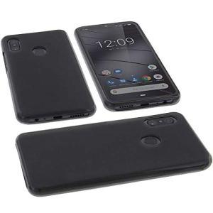 foto-kontor Étui pour Gigaset GS290 Housse pour Smartphone en Caoutchouc TPU Gris