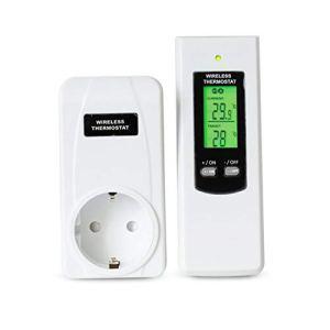 Kit hydroponique thermostat plug-in sans fil pour télécommande Celect -crc30f-kit Régulateur de température sans fil RF – Kit