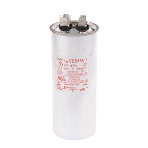 MagiDeal CBB65 450V AC 50/60HZ Condensateur du Moteur du Climatiseur 55-100VF pour Micro-Moteur Pompe à Eau Ventilateur – 70VF