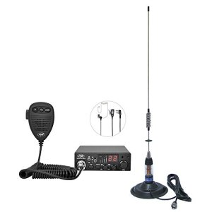 Paquet CB PNI Escort Radio HP 8001L ASQ Casques HS81L Antenne CB PNI ML70 avec Aimant Inclus 5238