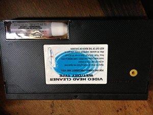 SADIM Casette de Nettoyage Audio VHS + Flacon de liquide