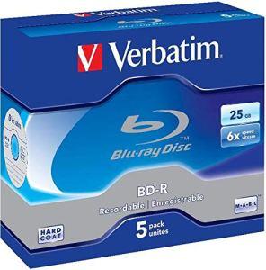Verbatim 97334 50Go BD-R 25pièce(s) Disque Vierge Blu-Ray – Disques Vierges Blu-Ray (BD-R, 50 Go, 6X, 25 pièce(s))