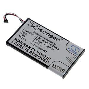 vhbw Batterie remplace Sony 4-297-656-01 pour Amplificateur DAC pour Casque (2200mAh, 3.7V, Li-Polymère)