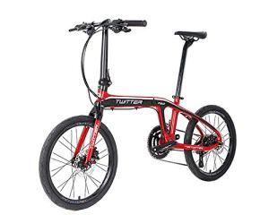 WEMOOVE Vélo Pliable Twitter Série 100 20» Shimano Claris 8V 9,8 KG