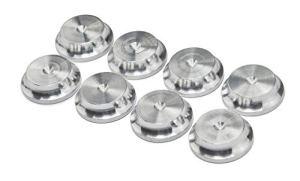 Aluminium Haut-Parleur Contre-pointes 20mm DIA – Lot de 8