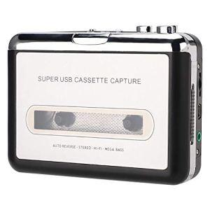 Cassette Player Portable, USB Audio Cassette Tape Converter USB Tape to MP3 Capture Converter Stereo Audio Music Cassette Player