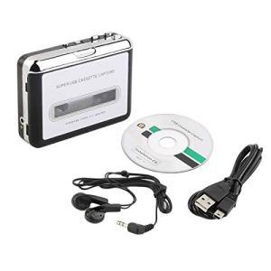 Cassette USB de Lecteur de Capture de Cassette vers PC Super Portable Convertisseur de Cassette USB en Mp3 Capture Audio Music Player