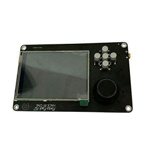 Domilay PORTAPACK H2 pour One SDR Radio DéFinie par Logiciel + 0.5Ppm GPS TXCO + 3.2 Pouces Press LCD + 1500MAh Batterie