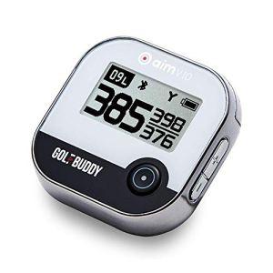 GolfBuddy V10 Système GPS de Golf Unisexe Chromé Taille Unique
