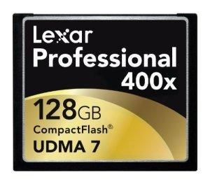 Lexar Professional – LCF128CTBEU400 – Carte Mémoire CompactFlash – UDMA 400x
