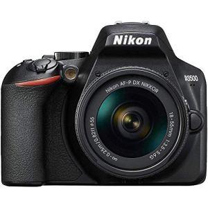 Nikon D3500 + AF-P 18–55 Kit d'appareil-Photo SLR 24,2 MP CMOS 6000 x 4000 Pixels Noir – Appareils Photos numériques (24,2 MP, 6000 x 4000 Pixels, CMOS, Full HD, 365 g, Noir)