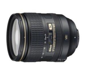 Objectif AF-S NIKKOR 24-120 mm f/4G Ed VR + Filtre UV 77 mm