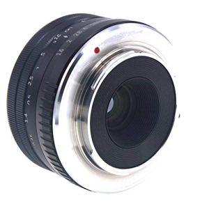 Shiwaki Anneau Adaptateur D'objectif 32MM F1.6 APS-C pour Monture Fujifilm Fuji X