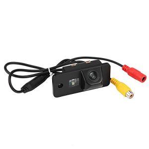 Suuonee Caméra de recul pour voiture, plaque d'immatriculation arrière rétroviseur inversant la caméra de vision nocturne pour A3 A4 A5 RS4 Q7
