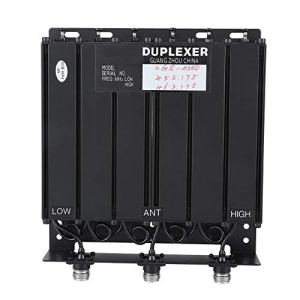 943 Duplexeur UHF 50 W à 6 cavités, UHF 3mhz ~ 10mhz Connecteur N 75 DB Duplexeur d'isolement, Duplexeur pour Zones résidentielles, centres commerciaux, hôtels (TX: 455.175 RX: 465.175)