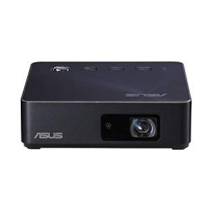 ASUS S2 Navy – Pico Projecteur Mini LED Portable HD Blanc – 500 lumens – HDMI & USB-C – Batterie intégrée 6000 mAh automie 3,5 heures – 1280 x 720 – 32 db – Haut-parleurs intégrés