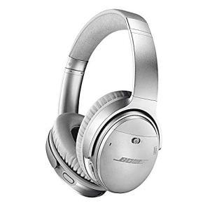 Bose Casque sans fil à réduction de bruit QuietComfort 35 II avec Amazon Alexa intégré – Argent
