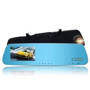 Caméra de tableau de bord Full HD 1080p Full HD pour tableau de bord de voiture Enregistreur vidéo pour voiture 4.3 écran LCD grand angle 170 ° Vision nocturne Enregistreur de conduite