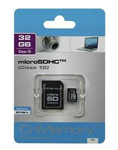CnMemory 86073 Carte mémoire microSDHC
